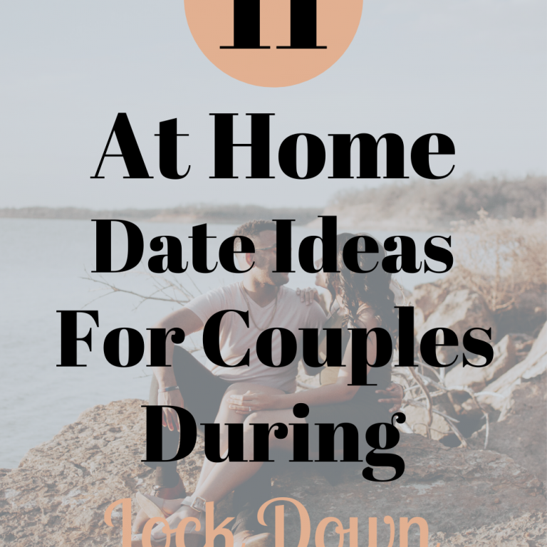 At Home Date Ideas For Couples During Lock Down