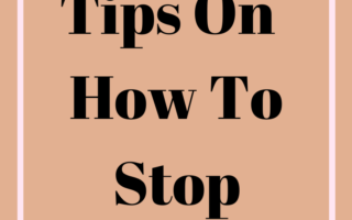 Tips on how to stop overthinking