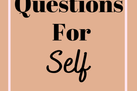 71 Questions for self discovery