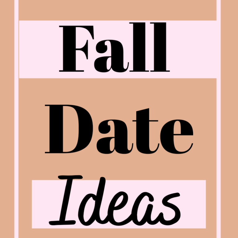 20 Fun Fall Date Ideas